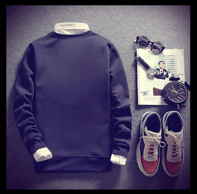 Férfi őszi pulóver - 9 változat