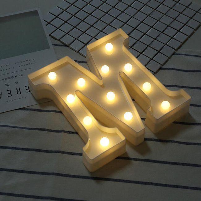 LED slovo A - Z 1