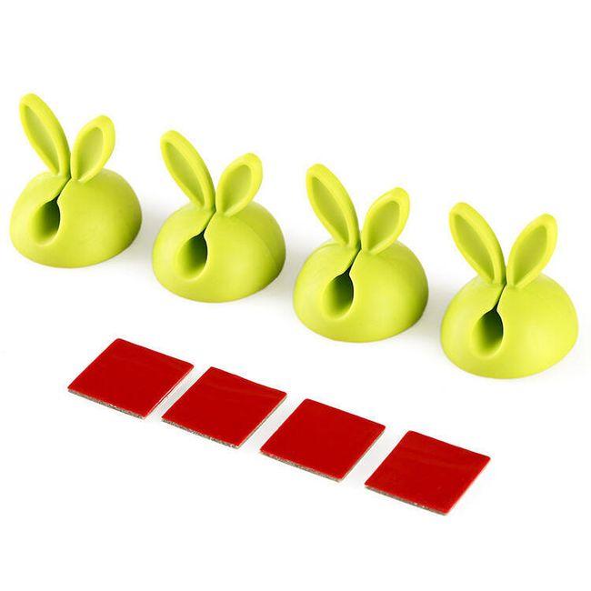 Držáky na kabel ve formě králičích oušek 1