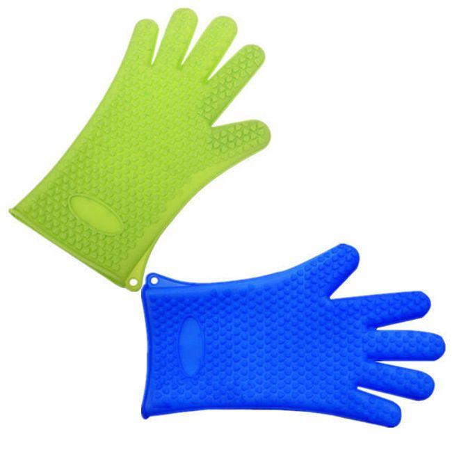 Silikonová chňapka ve tvaru rukavice 1