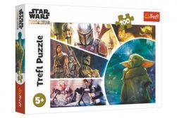 Puzzle Star Wars / The Mandalorianov 100 dielov 41x27,5cm v krabici 29x19x4cm RM_89016413