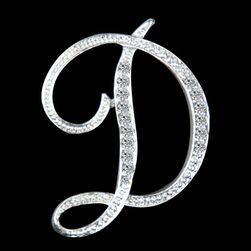 Brož ve tvaru písmene - A až N