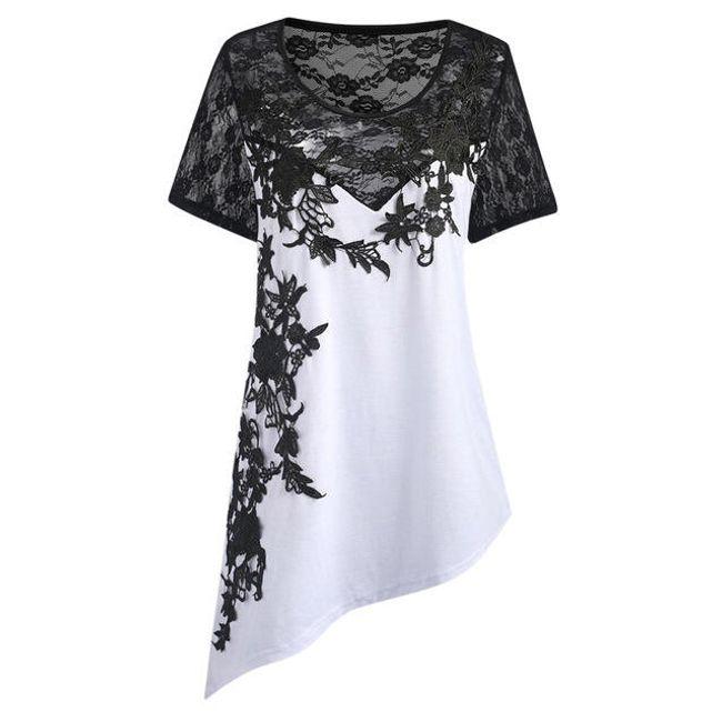 Ženska bluza asimetričnog kroja - 3 boje 1