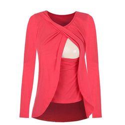 Tričko s dlouhým rukávem - 5 barev