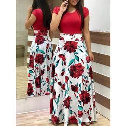 Dlouhé dámské šaty Mirella 1 - velikost č. 9