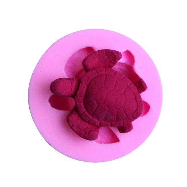 Silikonová forma na výrobu želviček 1