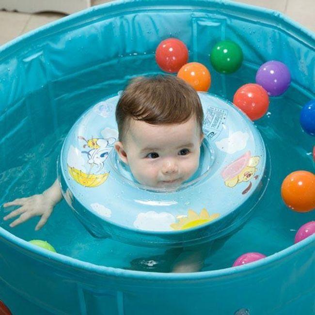 Otroški napihljivi plavalni obroč 1