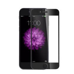 Ultra tanko kaljeno staklo za iPhone - bela, crna