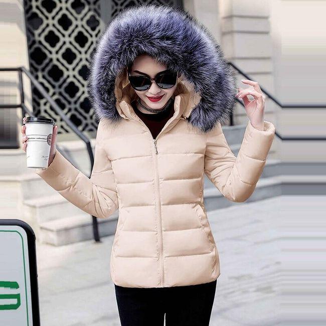Női kabát kapucnival Nancy