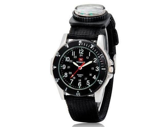 Unisex zegarek Womage z kompasem - 3 kolory 1