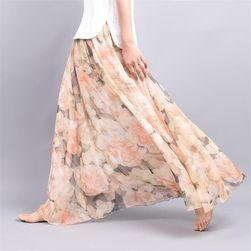 Dugačka suknja sa motivima cveća - 6 varijanti