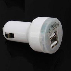 Duální USB autonabíječka