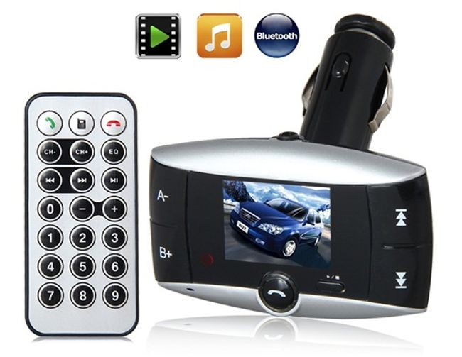 Bluetooth MP3 FM Transmitter z 1.5