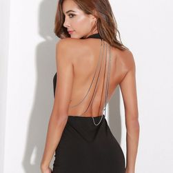 Women's dress with bare back Celesta