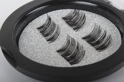 3D magnetické umělé řasy v krabičce - 1 pár