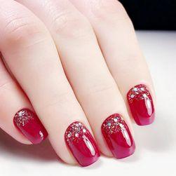 Изкуствени нокти с блясък