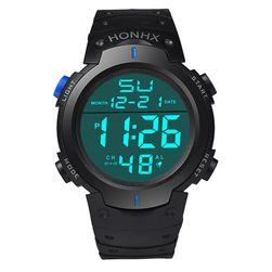 Męski zegarek cyfrowy z kalendarzem - 4 warianty