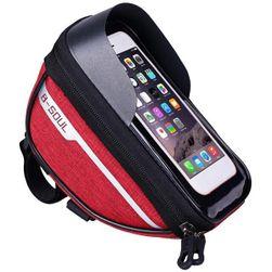 Чанта за рамка на колело с прозорец за мобилен телефон Andrea