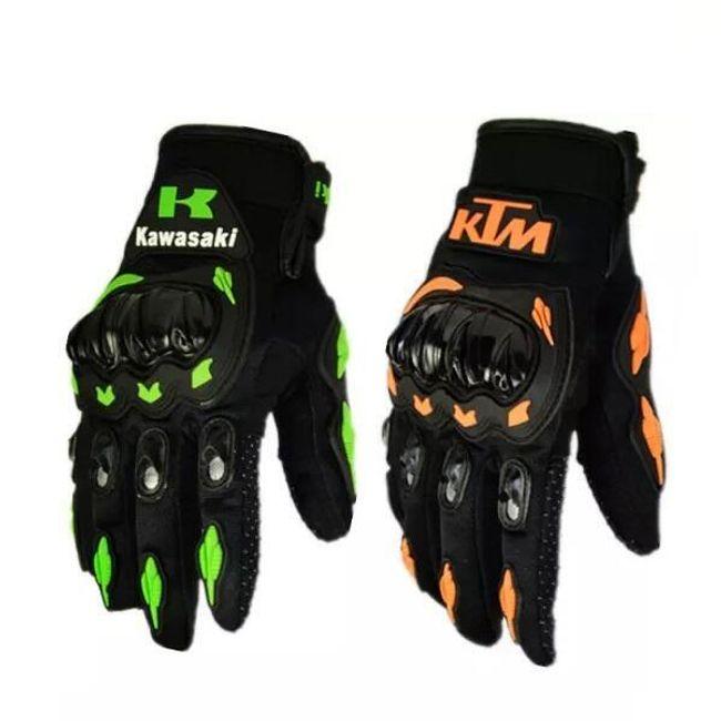 Závodní rukavice s ochranou kloubů 1