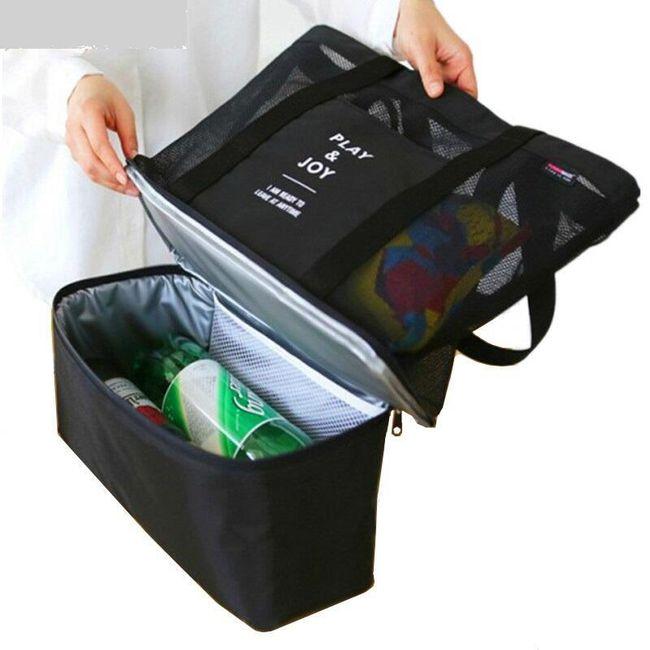 Taška s termo kapsou na potraviny - různé barvy 1