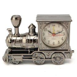 Budík v podobě lokomotivy