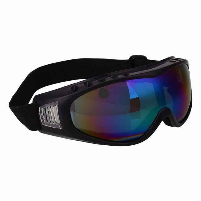 Ochranné jezdecké brýle - různé druhy 1