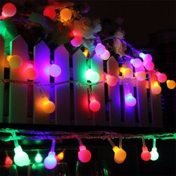 Lampki świąteczne LED na baterie -30 szt. (5 m)