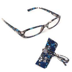 Virágos olvasó szemüveg