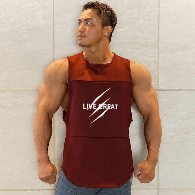 Sport férfi trikó Virgil