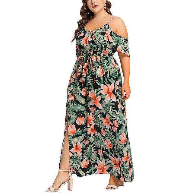 Dámské plus size šaty TF6870 1