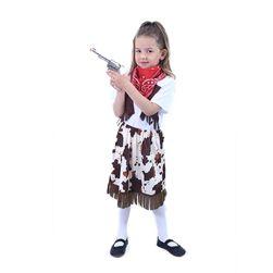 Otroški kavbojski kostum s šalom (S) RZ_207752