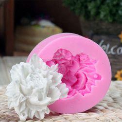 Silikonski kalup za fondan u obliku ruže