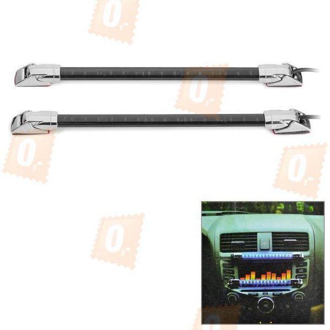 Dekorační LED osvětlení do interiéru vozu - modrá barva 1