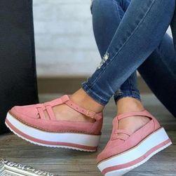 Дамски обувки на платформа TF9108