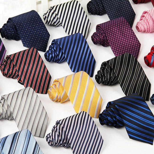 Férfi nyakkendő - változatos mintázat 1