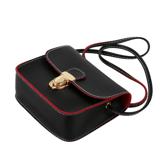 Retro kabelka s tenkým páskem 1