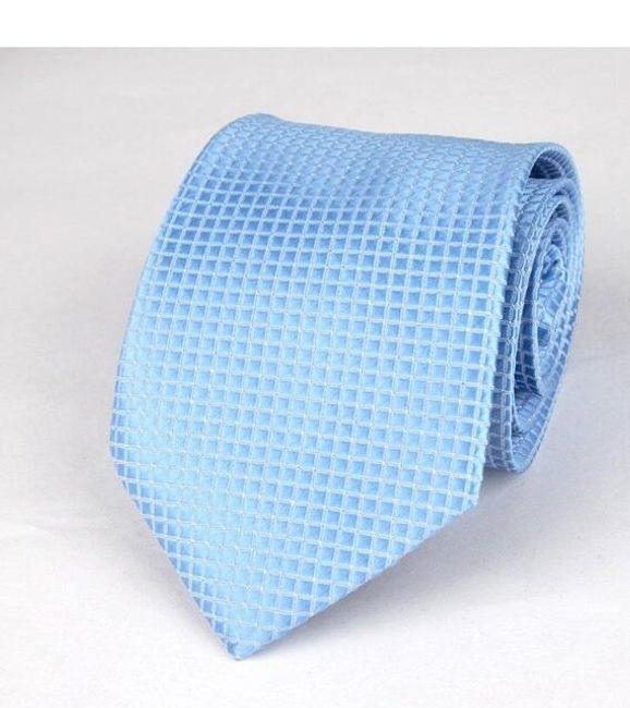 Férfi nyakkendő négyzettel - 12 változat