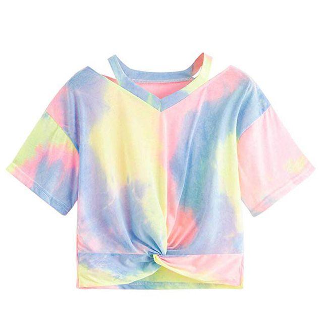 Dámské tričko s krátkým rukávem TF6804 1