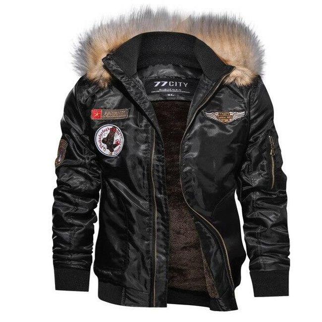 Pánská bunda Mike - Černá-XL 1