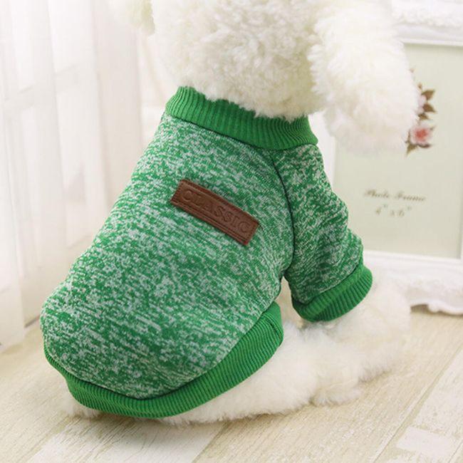 Zimska majica za pse - 11 boja 1