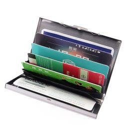 Carcasa metalica pentru carduri