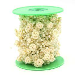 Ozdobna żyłka z różami
