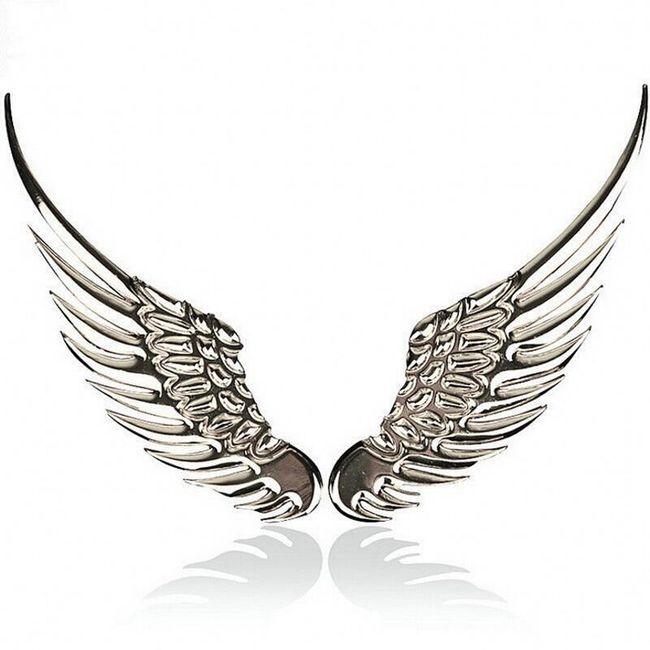 3D matrica autóra - angyal szárnyak 1