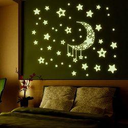 Светящиеся наклейки- Ночное небо