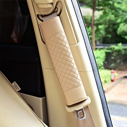 Накладка на автомобильный ремень безопасности- 3 расцветки