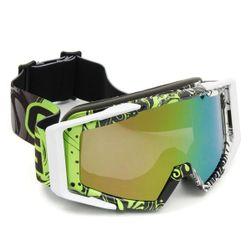 Brýle na motocross a lyžování v moderním designu