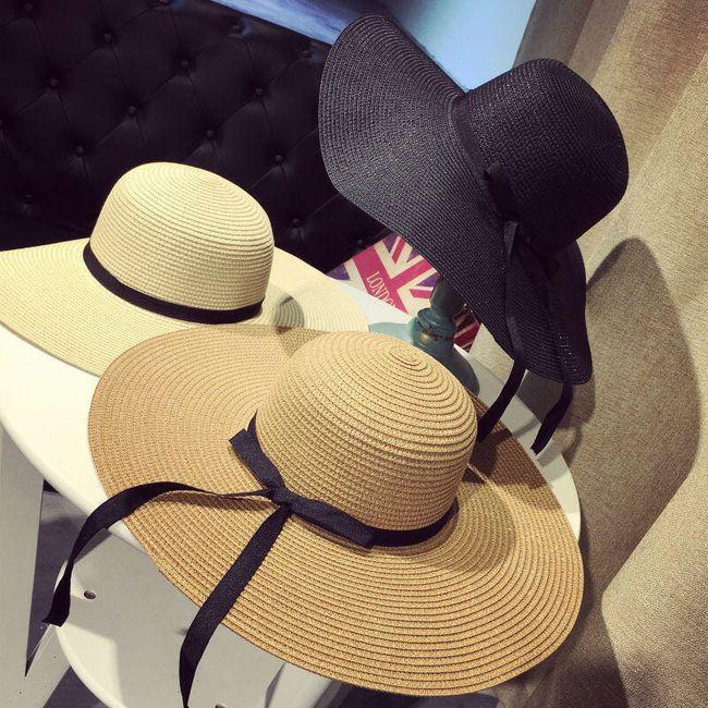 Пляжная широкополая шляпа 1