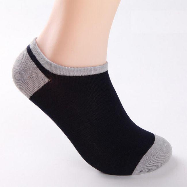 Férfi bambusz zokni - 5 pár