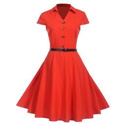 Damska sukienka z krótkim rękawem Brettany