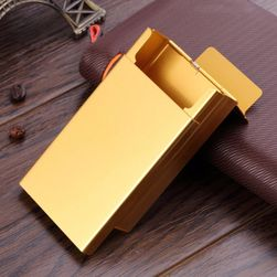 Hliniková stylová krabička na cigarety - 3 barvy